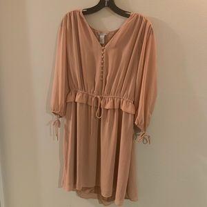 H&M Victorian-like 3/4 sleeve dress